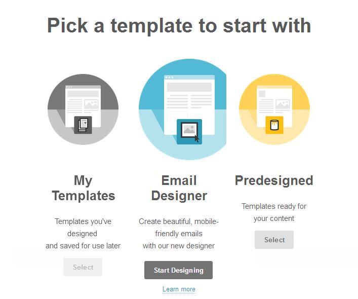 Sending an Email Design