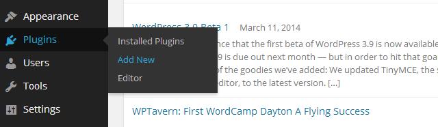 Plugins 01 Add New