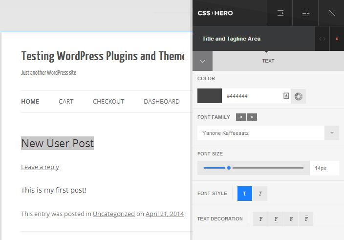 CSS Hero Editor