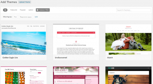 wordpress theme browser