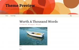 Twenty Thirteen theme example