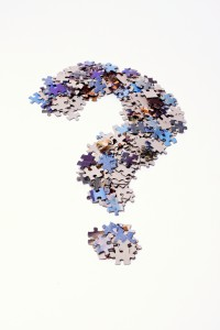 Jigsaw puzzle question mark | web development complexity